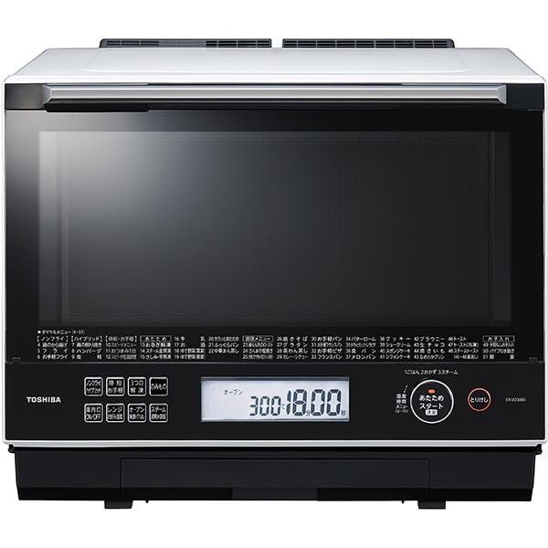 ER-VD3000(W) [過熱水蒸気オーブンレンジ 石窯ドーム スタンダードモデル 30L グランホワイト]