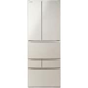 GR-S550FH(EC) [冷凍冷蔵庫 VEGETA(ベジータ) FHシリーズ (551L・フレンチドア) 6ドア サテンゴールド]