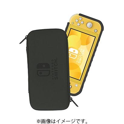 NS2-028 [タフプロテクター for Nintendo Switch Lite クリア×ブラック]