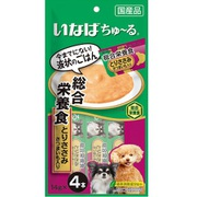 いなば Wanちゅ~る 総合栄養食 とりささみ さつまいも入り 14g×4本