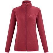 ウィメンズ K ライト グリッド ジャケット MIV8491 TIBETAN RED 7358 Lサイズ(日本:XLサイズ) [アウトドア フリース レディース]
