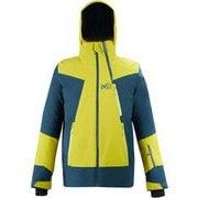 アラーニャ ストレッチ ジャケット ALAGNA STRETCH JKT MIV8761 WILD LIME/ORION BLUE 9165 Sサイズ(日本:Mサイズ) [スキーウェア ジャケット メンズ]
