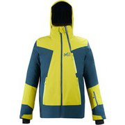 アラーニャ ストレッチ ジャケット ALAGNA STRETCH JKT MIV8761 WILD LIME/ORION BLUE 9165 Mサイズ(日本:Lサイズ) [スキーウェア ジャケット メンズ]