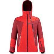 アラーニャ ストレッチ ジャケット ALAGNA STRETCH JKT MIV8761 FIRE/TIBETAN RED 9349 Lサイズ(日本:XLサイズ) [スキーウェア ジャケット メンズ]