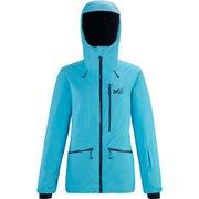 アラーニャ ストレッチ ジャケット ALAGNA STRETCH JKT W MIV8771 LIGHT BLUE 3526 Sサイズ(日本:Mサイズ) [スキーウェア ジャケット レディース]