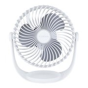 YJ-DT15-W [充電式大風量デスクファン]