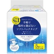 エリエール+Water ソフトパック 120組×5パック [ティッシュペーパー]