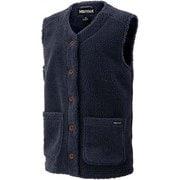 ウィメンズシープフリースベスト W's Sheep Fleece Vest TOWQJL41 INK Sサイズ [アウトドア フリース レディース]