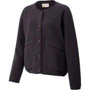 ウィメンズボアフリースカーディガン W's Boa Fleece Cardigan TOWQJL44YY (SKK) シコク XLサイズ [アウトドア フリース レディース]