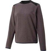 ウィメンズフリースセーター W's Fleece Sweater TOWQJL45YY GY Lサイズ [アウトドア フリース レディース]
