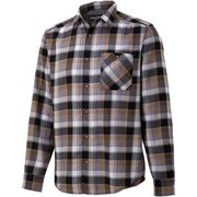 プラッドロングスリーブシャツ PLAID L/S SHIRT TOMQJB76 BK XLサイズ [アウトドア シャツ メンズ]