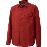 シーピーオーロングスリーブシャツ CPO L/S Shirt TOMQJB78 BRC Lサイズ [アウトドア シャツ メンズ]