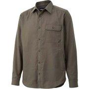 シーピーオーロングスリーブシャツ CPO L/S Shirt TOMQJB78 KH Lサイズ [アウトドア シャツ メンズ]