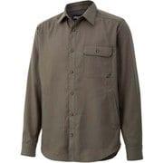 シーピーオーロングスリーブシャツ CPO L/S Shirt TOMQJB78 KH Sサイズ [アウトドア シャツ メンズ]
