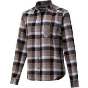 ウィメンズプラッドロングスリーブシャツ W's Plaid L/S Shirt TOWQJB76 BK XLサイズ [アウトドア シャツ レディース]