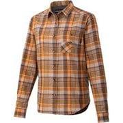 ウィメンズプラッドロングスリーブシャツ W's Plaid L/S Shirt TOWQJB76 BW Sサイズ [アウトドア シャツ レディース]