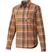 ウィメンズプラッドロングスリーブシャツ W's Plaid L/S Shirt TOWQJB76 BW XLサイズ [アウトドア シャツ レディース]