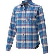ウィメンズプラッドロングスリーブシャツ W's Plaid L/S Shirt TOWQJB76 DSK Sサイズ [アウトドア シャツ レディース]