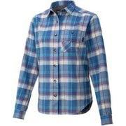 ウィメンズプラッドロングスリーブシャツ W's Plaid L/S Shirt TOWQJB76 DSK XLサイズ [アウトドア シャツ レディース]