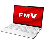 FMVA50E1W [ノートパソコン LIFEBOOK AHシリーズ/15.6型ワイド/Ryzen7 3750H/メモリ 8GB/SSD 256GB/DVDスーパーマルチ/Windows 10 Home 64ビット/Office Home and Business 2019/プレミアムホワイト]