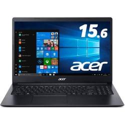 A315-56-N38U/K [ノートパソコン Aspire 3 15.6型/Core i3/メモリ 8GB/SSD 256GB/ドライブレス/Windows 10 Home/シェールブラック]