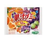 果汁グミアソート袋 163g