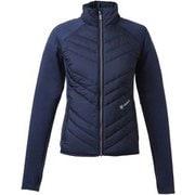 W's Hybrid Fleece Jacket GW50350P (N)ネイビー Mサイズ [スキーウェア ミドルウェア レディース]