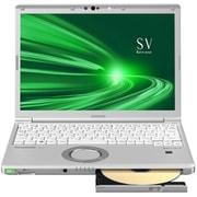 CF-SV9HDSQR [Let's note(レッツノート) SV9シリーズ 12.1型/Core i5-10210U/メモリ 8GB/SSD 256GB/Windows 10 Pro 64ビット/Microsoft Office Home & Business 2019/シルバー]