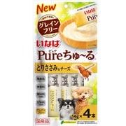 Pureちゅ~る とりささみ&チーズ 14g×4本