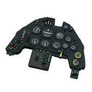 EDU644057 Bf109G-6 ルックプラス 計器盤 w/パーツセット タミヤ用 [1/48スケール ディテールアップパーツ]
