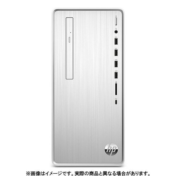9AQ44AA-AAAB [HP Pavilion Desktop TP01-0000 G1モデル Core i7-9700/メモリ 16GB/HDD 2TB/SSD 256GB/Windows 10 Pro (64bit)/Office Home & Business 2019/ナチュラルシルバー]