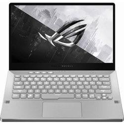 GA401IV-R9R2060WLQ [ROG Zephyrus G14 GA401IV 14型/AMD Ryzen 9 4900HS モバイルプロセッサー+AMD Radeon グラフィックス/メモリ 16GB/SSD 1TB/Windows 10 Home 64ビット/ムーンライトホワイト AniMe Matrix]