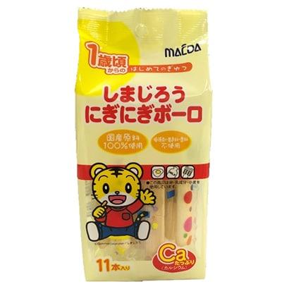 大阪前田製菓 しまじろうにぎにぎボーロ 11本
