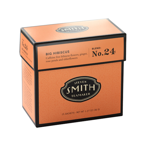 STEVEN SMITH TEAMAKER(スティーブンスミスティーメーカー) NO.24 ビッグ ハイビスカス [ティーバッグ 2.8g×15包 カフェインフリー]