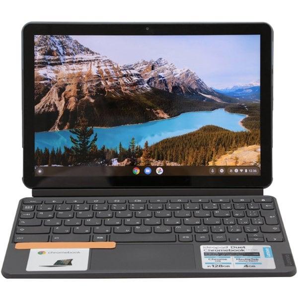 ZA6F0038JP [IdeaPad Duet Chromebook MT/10.1型/メモリ 4GB/eMMC 128GB/Chrome OS/アイスブルー]
