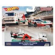 ホットウィール チームトランスポート GJT40 FORD C-800 2016 FORD GT RACE [ミニカー]