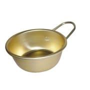 RMT2004 [アルマイト マッコリカップ 手付 13cm ゴールド]