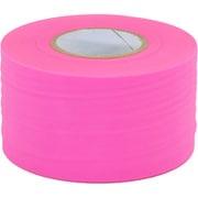 マーキング 目印テープ 幅広 幅50mm×長50m ピンク