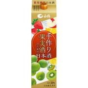 白鶴 手作り果実酒のための日本酒 パック 1800ml [日本酒]