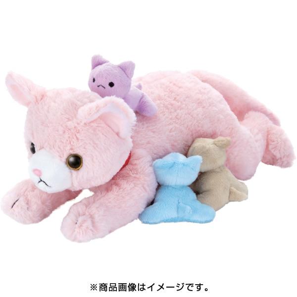 夢ペット 産んじゃったシリーズ ネコ産んじゃった!ピンク [対象年齢:3歳~]