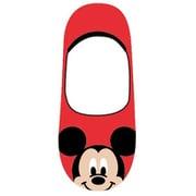 AWDS6626J フットカバー 22~24cm ディズニー ミッキーマウス アップ RD [キャラクターグッズ]
