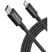 A8623011 [Anker 高耐久ナイロン USB-C & ライトニング ケーブル 1.8m ブラック]