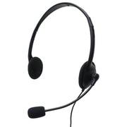 GR-HS01-4CBK [ボイスチャット/音声通話用ヘッドセット(3.5mm 4極ミニプラグ接続モデル)]