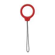 iFace Reflection Silicone Ring リングストラップ レッド [スマートフォン用 ホールドリングストラップ]