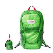 GE1401 ポケッタブルBackPack 21L グリーン [ショッピングバッグ リュックタイプ]