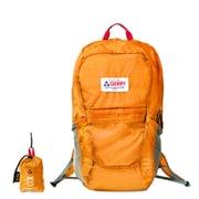 GE1401 ポケッタブルBackPack 21L オレンジ [ショッピングバッグ リュックタイプ]