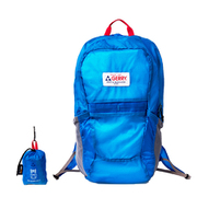 GE1401 ポケッタブルBackPack 21L ブルー [ショッピングバッグ リュックタイプ]