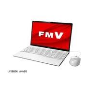 FMVA45EWC1 [ノートパソコン LIFEBOOK AHシリーズ/15.6型ワイド/Core i3-10110U/メモリ 8GB/SSD 512GB/DVDスーパーマルチドライブ/Windows 10 Home 64ビット/Office Home and Business 2019/プレミアムホワイト]