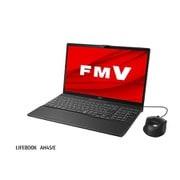 FMVA45EBC1 [ノートパソコン LIFEBOOK AHシリーズ/15.6型ワイド/Core i3-10110U/メモリ 8GB/SSD 512GB/DVDスーパーマルチドライブ/Windows 10 Home 64ビット/Office Home and Business 2019/ブライトブラック]