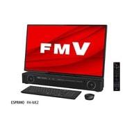 FMVFXE2B [デスクトップパソコン ESPRIMO FHシリーズ/27型ワイド/Corei7-10750H/メモリ 8GB/Optane16GB+SSD256GB+HDD3TB/UHDBDマルチドライブ/Windows  10 Home 64ビット/Office Home and Business 2019/オーシャンブラック]